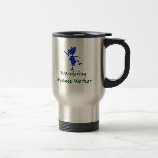 Wandering Organic Worker (WOOFER) Stainless Steel Travel Mug
