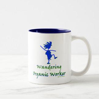 Wandering Organic Worker (WOOFER) Two-Tone Mug