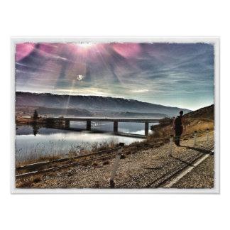 Wandering soul photographic print