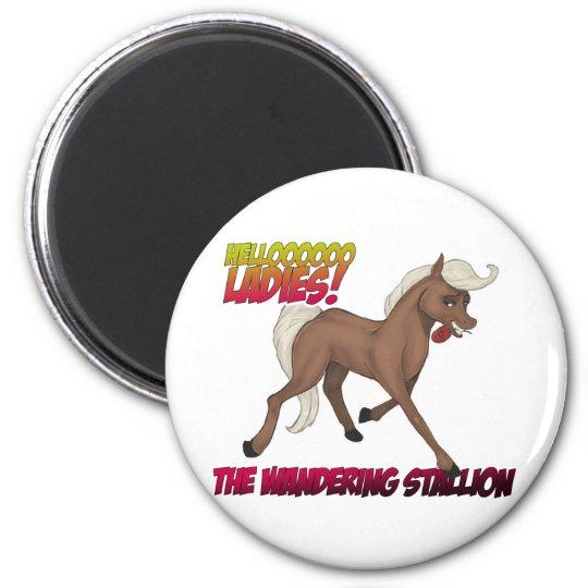 Wandering Stallion Magnet