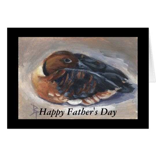 Wandering Whistling Duck Greeting Card