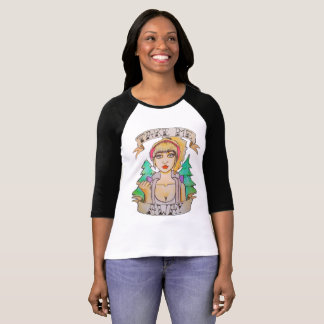 Wanderlust Art T-Shirt for Travel Addicts