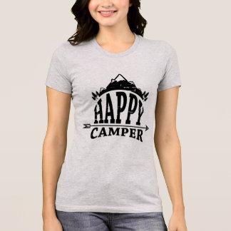 Wanderlust Boho Happy Camper Nature Nature T-Shirt