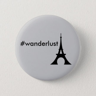 Wanderlust Eiffel Tower button