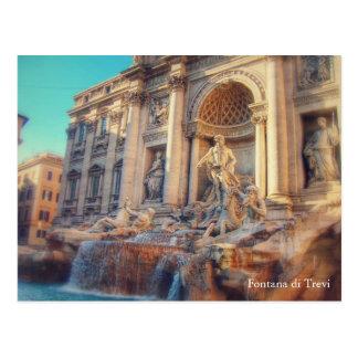 Wanderlust - Fontana di Trevi / Trevi Fountain Postcard