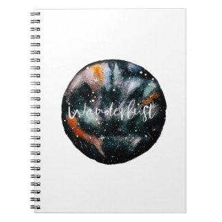 Wanderlust Galaxy Notebook
