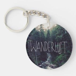 Wanderlust Key Ring