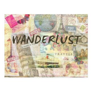 Wanderlust Postcard