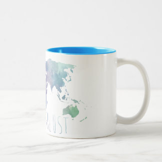 Wanderlust Watercolor Mug