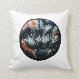 Wanderlust White Throw Cushion