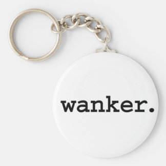 wanker. key ring