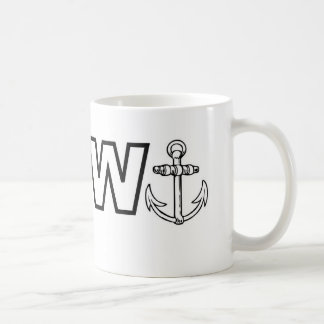 Wanker Mug. Basic White Mug