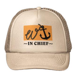 Wanker (w-anchor) hat