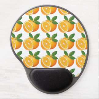 Wanna a delicious orange juice? Oreange yellow Gel Mouse Pad