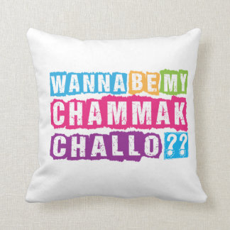 Wanna be my Chammak Challo ? Beautiful flashy girl Cushion