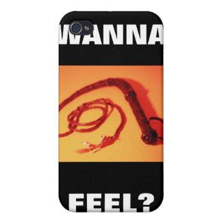 WANNA FEEL iPhone 4/4S COVERS