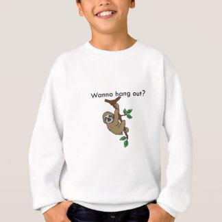 Wanna hang out? Sloth shirt