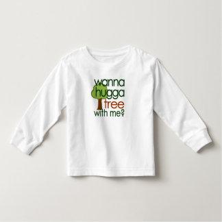 Wanna Hugga Tree With Me? Tee Shirts
