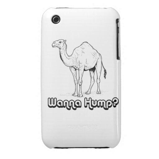 Wanna Hump - iPhone 3 Case-Mate Cases