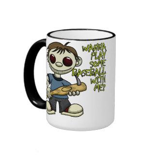 Wanna Play Baseball Mug