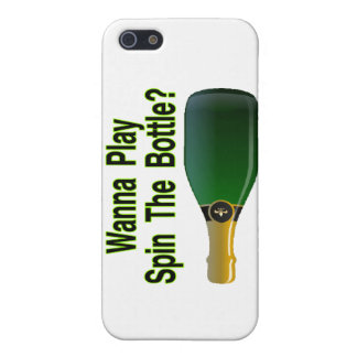 Wanna Play Spin The Bottle iPhone 5 Cases