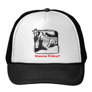Wanna Polka? Oktoberfest T-shirt Cap