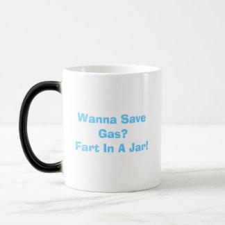Wanna Save Gas Fart In A Jar Heat Sensitive Mug