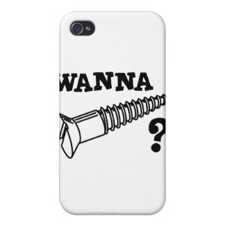 WANNA SCREW CASES FOR iPhone 4