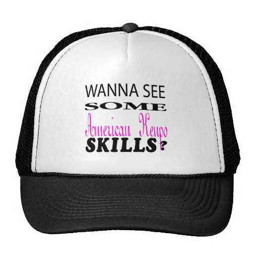 Wanna See Some American Kenpo Skill. Mesh Hat