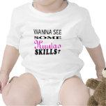 Wanna See Some Kuntao Skill. Baby Bodysuit
