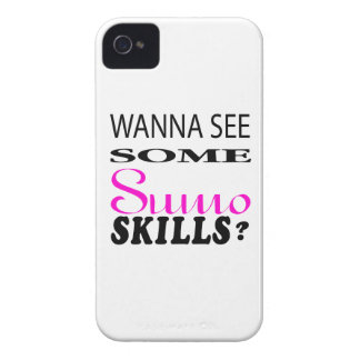 Wanna See Some Sumo Skill Case-Mate iPhone 4 Case