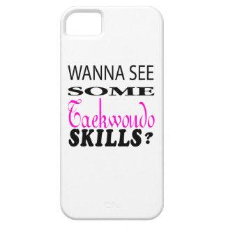 Wanna See Some Taekwondo Skill iPhone 5 Case