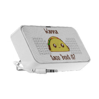 Wanna Taco 'Bout It? Notebook Speakers