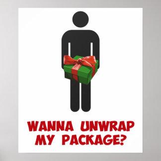 Wanna Unwrap my Package? Print