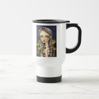Wannabe Butterfly Stainless Steel Travel Mug