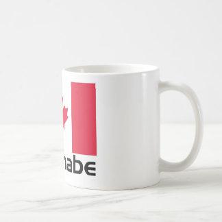 Wannabe Canada Basic White Mug