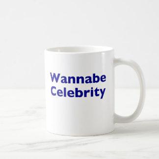 Wannabe Celebrity Basic White Mug