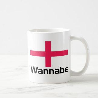 Wannabe - England Basic White Mug
