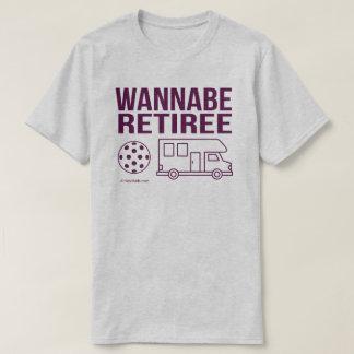 """""""Wannabe Retiree"""" Pickleball Shirt"""