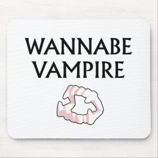 Wannabe Vampire Mouse Pad