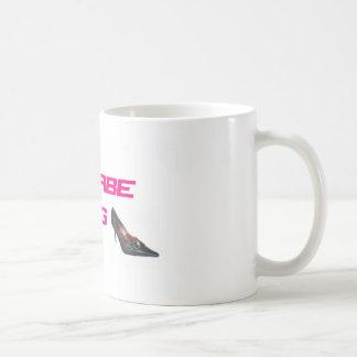 Wannabe wag basic white mug