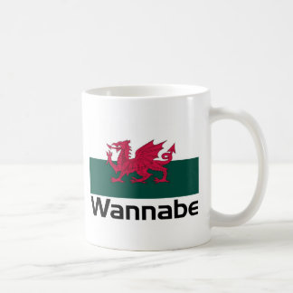 Wannabe- Welsh Basic White Mug