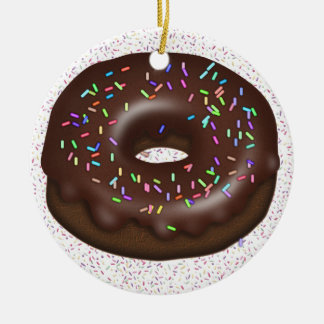 Want a Doughnut with That Coffee? Christmas Ornament