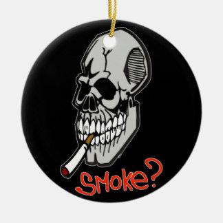 Want A Smoke Christmas Ornament