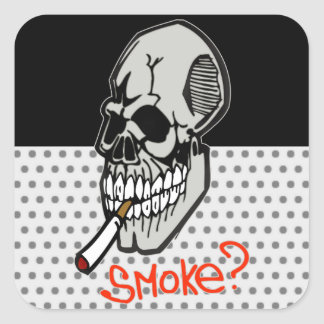 Want A Smoke Sticker