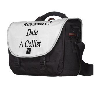 Want Adventure Date A Cellist Laptop Messenger Bag