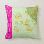Want eternal life Pillows
