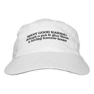 Want good karma? Adopt a pet... Hat
