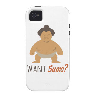 Want Sumo Case-Mate iPhone 4 Cases