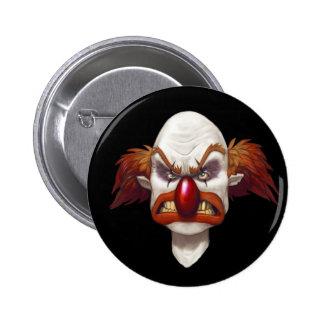 Want To Clown Around? - Designer Button 2 Inch Round Button